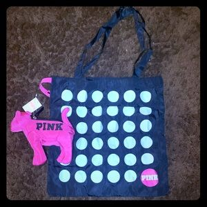 ✨✨  VS Pink Dog & Packable Mini Tote✨✨